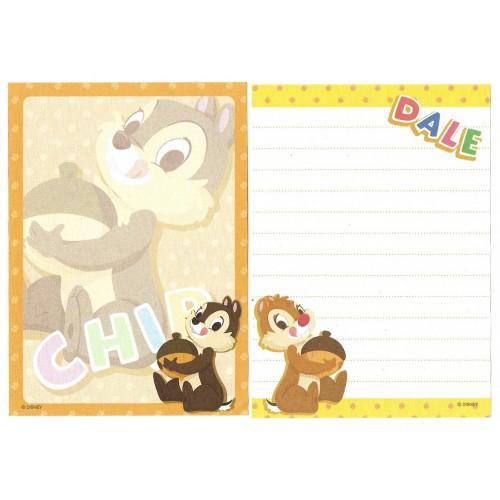 Kit 2 NOTAS Chip'n Dale Nuts Disney Japan