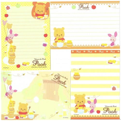 Kit 4 NOTAS Winnie The Pooh Break Disney Sun-Star