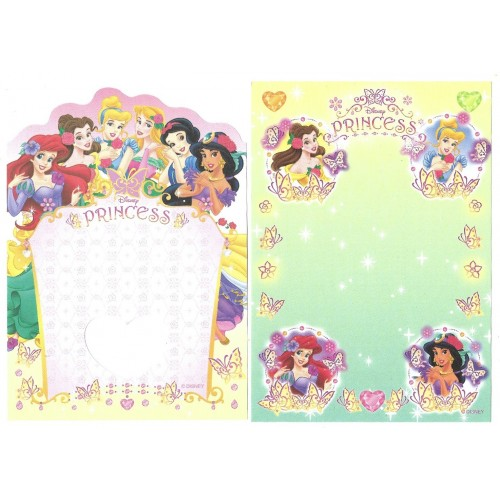 Kit 2 NOTAS Disney Princess Sun-Star