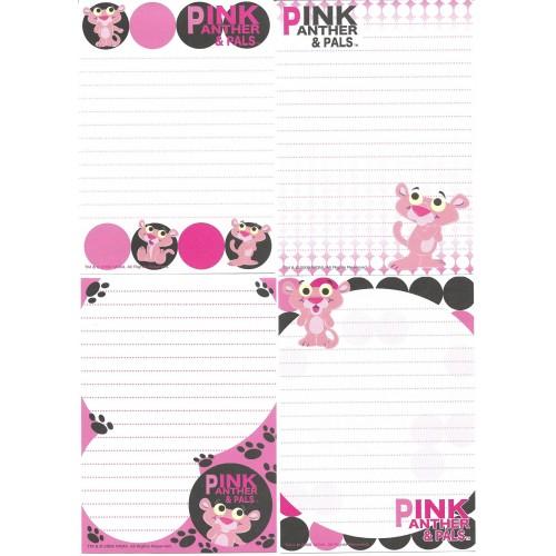 Kit 4 Notas Pink Panther & Pals 2008
