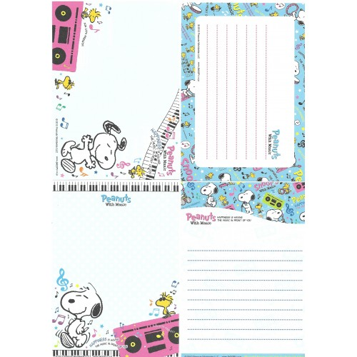 Ano 2012. Kit 4 Notas SNOOPY With Music CAZ