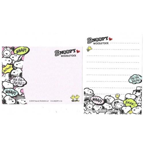 Ano 2015. Kit 2 MEMOS Snoopy Astronaut 2