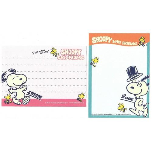 Ano 2015. Kit 2 MEMOS Snoopy & His Friends CAZ