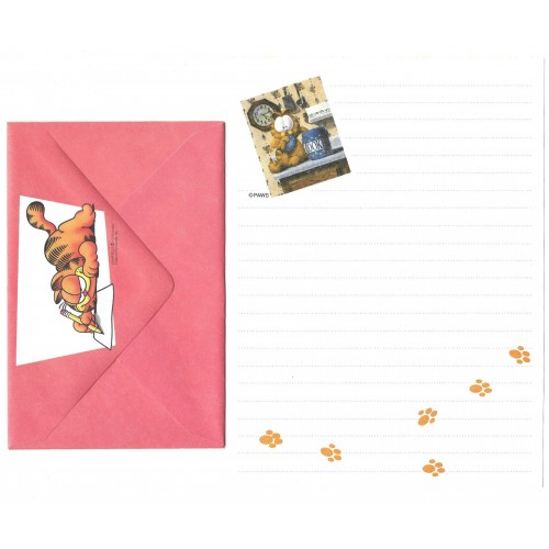 Conjunto de Papel de Carta Avulso Garfield Cookies - Paws