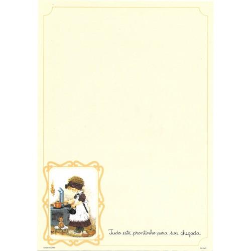 Papel de Carta July Pop E-01