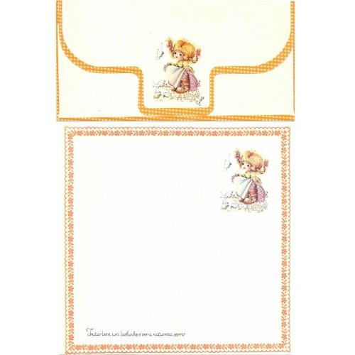 Conjunto de Papel de Carta Coleção Gisele (QLA) - G