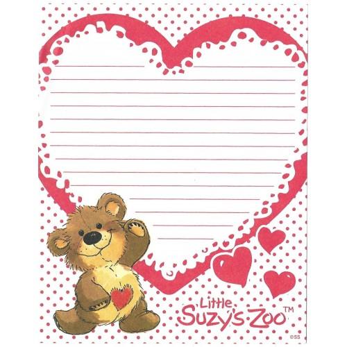 Papel de Carta IMPORTADO Suzy's Zoo M8
