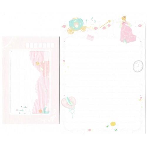 Conjunto de Papel de Carta Importado Palette Cinderella San-X