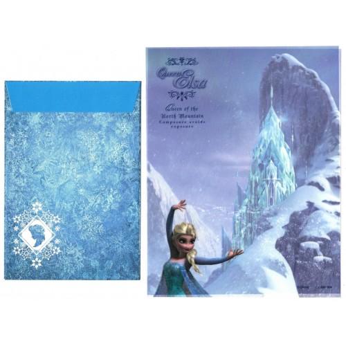 Conjunto de Papel de Carta Disney Queen Elsa VEG Sun-Star