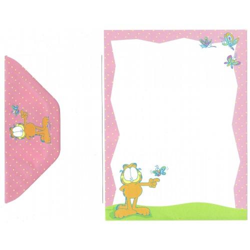 Conjunto de Papel de Carta Garfield CRS