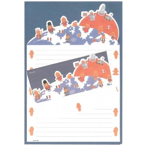 Conjunto de Papel de Carta Antigo (Vintage) GH-1397