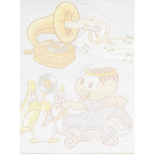 Papel de Carta Turma da Mônica 5 EDIÇÃO ESPECIAL PHEBO
