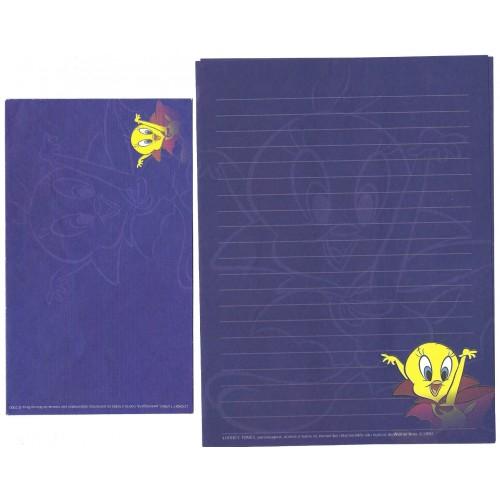 Conjunto de Papel de Carta Looney Tunes Piu-Piu - Warner