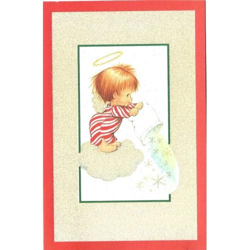 Notecard Antigo Importado Christmas 2 Ruth Morehead A.G.