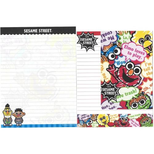 Conjunto de Papel de Carta Sesame Street CVM