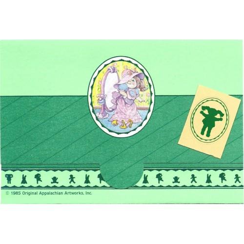 Ano 1985. Postalette Antigo Importado Cabbage Patch Kids (CVD)