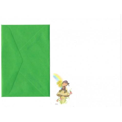 Conjunto de Papel de Carta Antigo Importado Himself the Elf