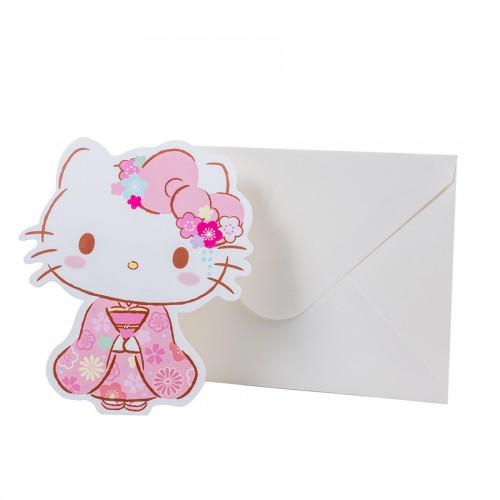 Ano 2019. Notecard com Envelope Sakura HK 45th Anniversary