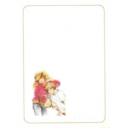 Papel de Carta Antigo Coleção Miss Sprite 01MINI C1