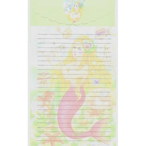 Capa & Conjunto de Papel de Carta Antigo Importado LP18005 B YANG