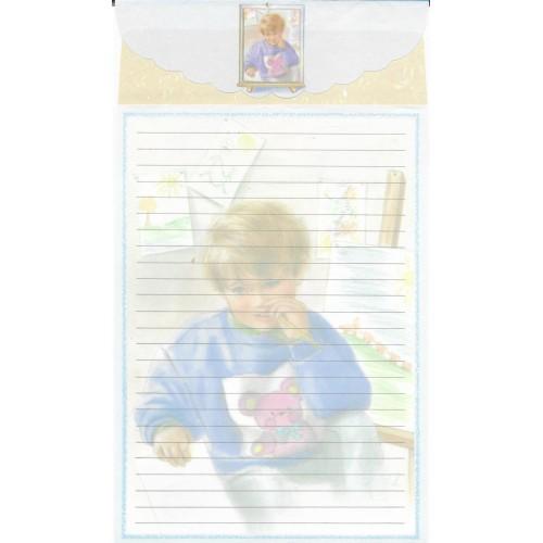 Conjunto de Papel de Carta Antigo Importado LP18047 A YANG