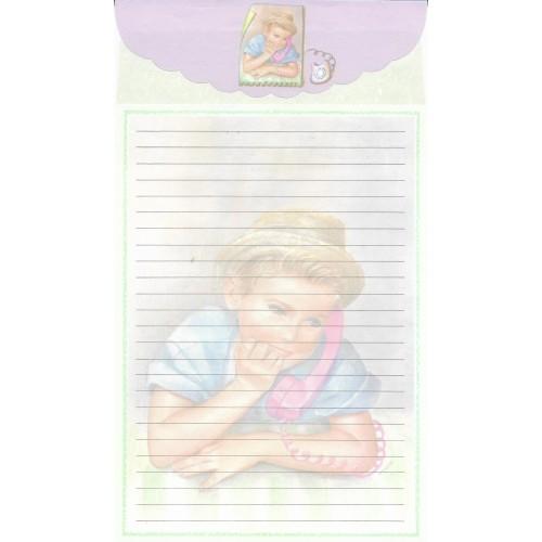 CAPA & Conjunto de Papel de Carta Antigo Importado LP18047 C YANG