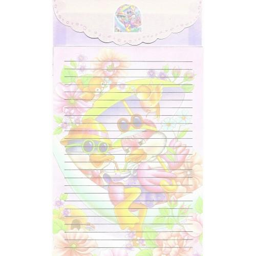 Capa & Conjunto de Papel de Carta Antigo Importado LP18002 A YANG