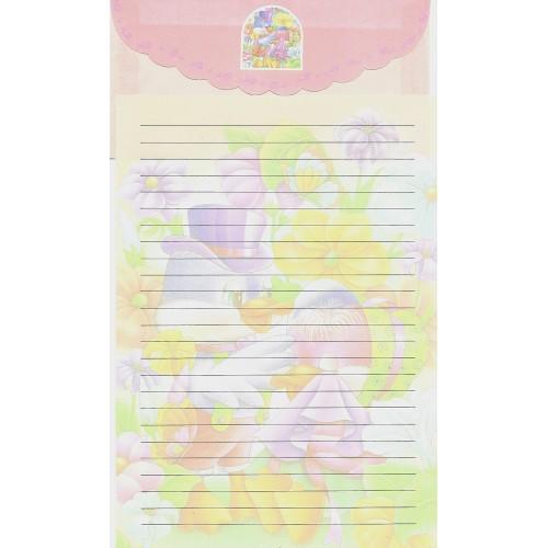 Capa & Conjunto de Papel de Carta Antigo Importado LP18002 B YANG