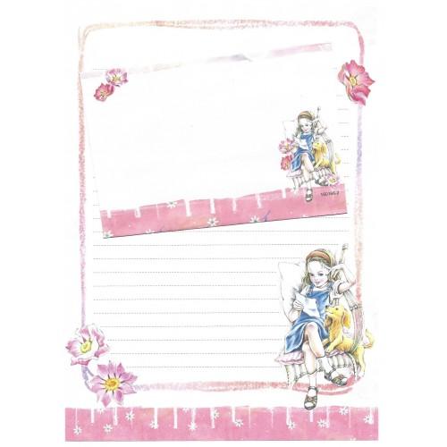 Conjunto de Papel de Carta Shinn Jee Menininha PB180166-2
