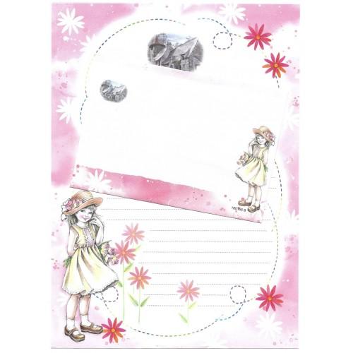 Conjunto de Papel de Carta Shinn Jee Menininha PB180166-9