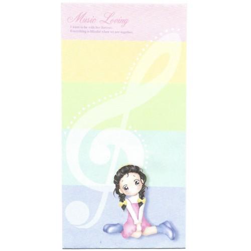 Envelope AVULSO Importado Music Loving Cherry Orange Story