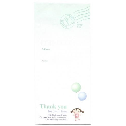 Envelope AVULSO Importado Thank You Angel Orange Story