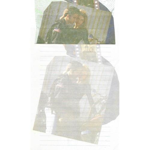 Conjunto de Papel de Carta Antigo Importado DASEN 3034B