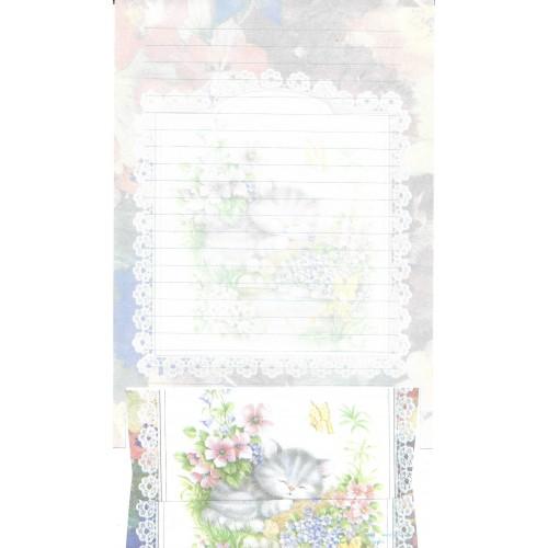 Conjunto de Papel de Carta Antigo Importado DASEN 3039A