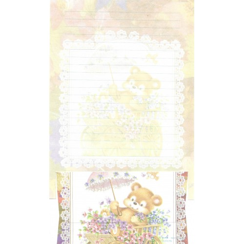 Conjunto de Papel de Carta Antigo Importado DASEN 3039B