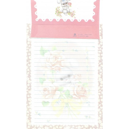 Conjunto de Papel de Carta Antigo Importado DASEN 1782C