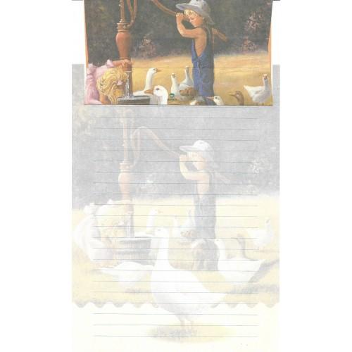 Conjunto de Papel de Carta Antigo Importado DASEN 3026B