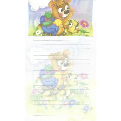 Conjunto de Papel de Carta Antigo Importado DASEN 3030A