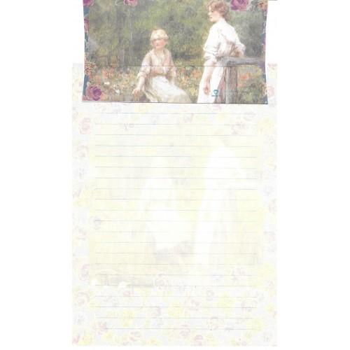 Conjunto de Papel de Carta Antigo Importado DASEN 3007A
