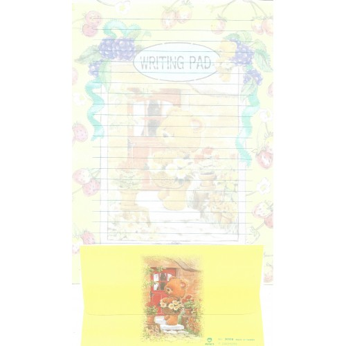 Conjunto de Papel de Carta Antigo Importado DASEN 3033B