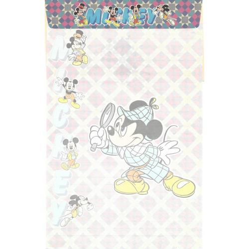 Conjunto de Papel de Carta ANTIGO Mickey Mouse CLL Clarinho