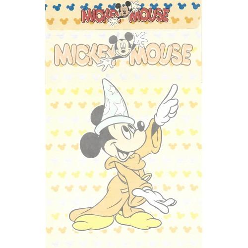 Conjunto de Papel de Carta ANTIGO Mickey Mouse CAM Clarinho