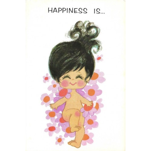 Ano 1969. Notecard Cartão Importado Sweet Notes 3 Paula Presents