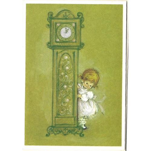 Notelette Importado Charmers CRE2 Clock Hallmark