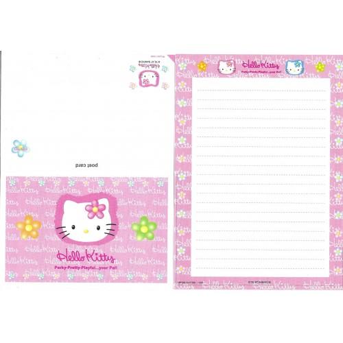 Ano 1997. Postal Hello Kitty Perky Vintage Sanrio