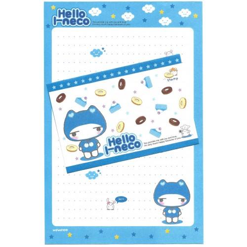 Conjunto de Papel de Carta Importado Hello I-neco 6