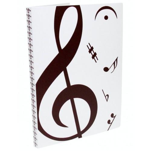Pasta Catálogo 20 Plásticos Music CBR