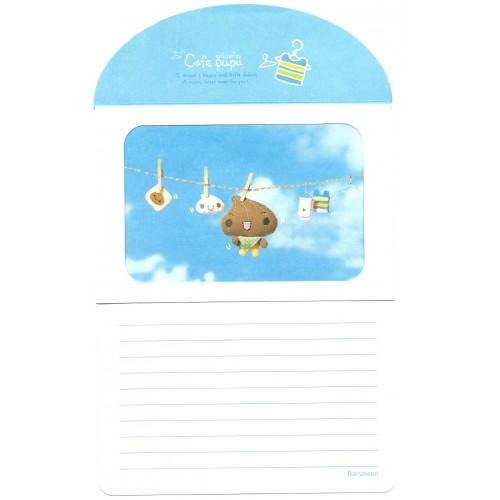 Conjunto de Papel Envelope Importado Cafe Pupu CAZ Barunson