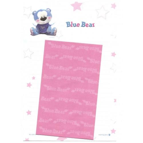Conjunto de Papel de Carta Importado Blue Bear CRS - Morning Glory