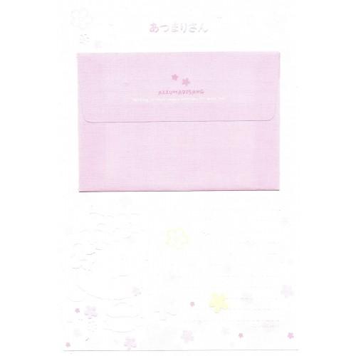 Conjunto de Papel de Carta Importado Azzumarisang CBR